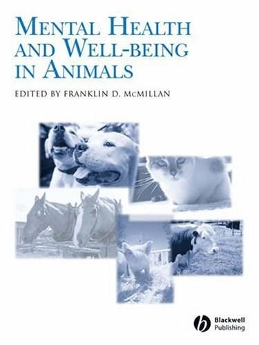 Mental Health And Well-Being In Animals 9780813804897