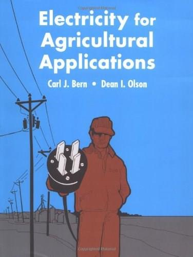 Electricity for Agricultural Applications, by Bern 9780813821993