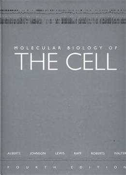 Molecular Biology of the Cell, by Alberts, 4th Edition 4 w/CD 9780815332183