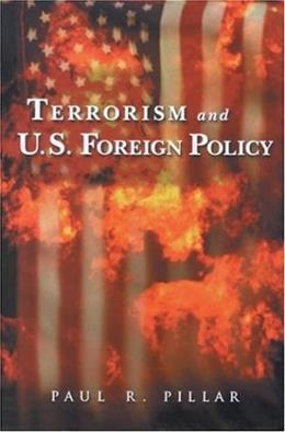 Terrorism and U.S. Foreign Policy 1 9780815700043