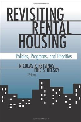 Revisiting Rental Housing: Policies, Programs, and Priorities 9780815774112