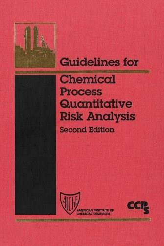 Guidelines for Chemical Process Quantitative Risk Analysis, by Center for Chemical Process Safety, 2nd Edition 9780816907205