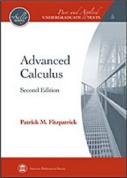 Advanced Calculus (Pure and Applied Undergraduate Texts: The Sally Series) 2 9780821847916
