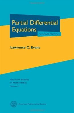 Partial Differential Equations, by Evans, 2nd Edition 9780821849743