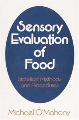 Sensory Evaluation of Food, by O