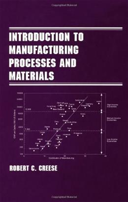 Introduction to Manufacturing Processes and Materials, by Creese 9780824799144