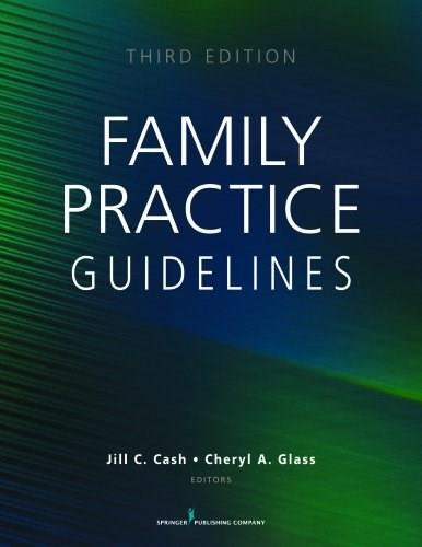 Family Practice Guidelines, Third Edition 3 9780826197825
