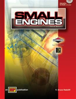 Small Engines, by Radcliff, 3rd Edition 3 w/CD 9780826900265