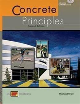 Concrete Principles, by Fahl, 2nd Edition 2 w/CD 9780826905123
