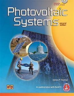 Photovoltaic Systems, by Dunlop, 2nd Edition 2 w/CD 9780826913081