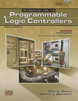 Introduction to Programmable Logic Controllers, by Mazur, 2nd Edition 2 w/CD 9780826913852
