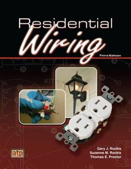 Residential Wiring, by Rockis, 3rd Edition 9780826916563