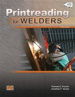 Printreading for Welders, by Proctor, 5th Edition 5 w/DVD 9780826930712
