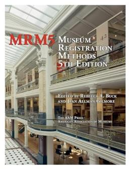Museum Registration Methods, by Buck 9780838911228