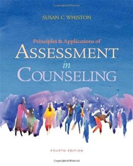 Principles and Applications of Assessment in Counseling, 4th Edition 9780840028556