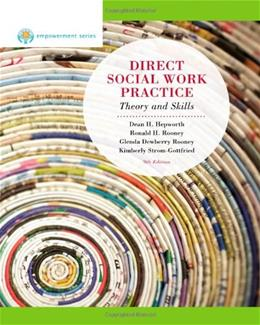 Direct Social Work Practice, by Hapworth, 9th Edition 9780840028648