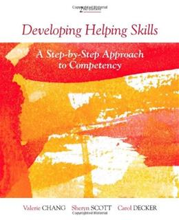 Developing Helping Skills: A Step-by-Step Approach to Competency (HSE 123 Interviewing Techniques) 2 w/DVD 9780840028679