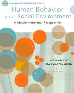 Brooks/Cole Empowerment Series: Human Behavior in the Social Environment (SW 327 Human Behavior and the Social Environment) 5 9780840029119