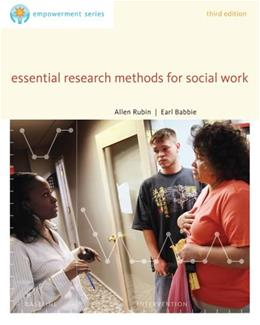 Essential Research Methods for Social Work (SW 385R Social Work Research Methods) 9780840029133
