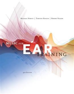 Music for Ear Training (with Premium Website Printed Access Card) 4 PKG 9780840029812