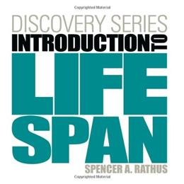 Discovery Series: Introduction to Lifespan, by Rathus 9780840030061