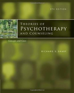 Theories of Psychotherapy & Counseling: Concepts and Cases, 5th Edition 9780840033666