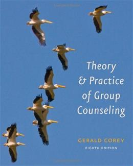 Theory and Practice of Group Counseling 8 9780840033864