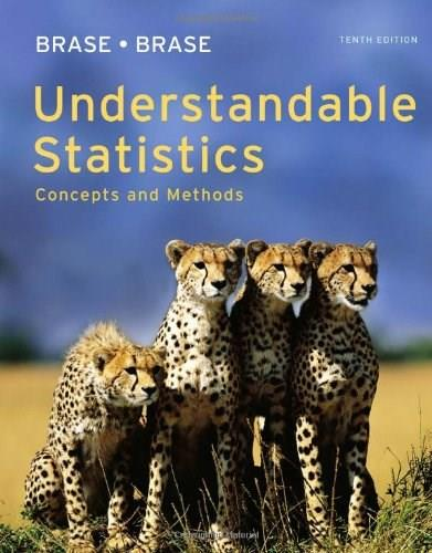 Understandable Statistics: Concepts and Methods 10 9780840048387