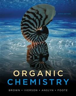 Organic Chemistry 6th Edition Brown Foote Iverson Anslyn (Hardcover) 9780840054982