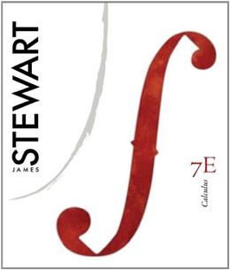 Calculus, by Stewart, 7th Edition 9780840058188