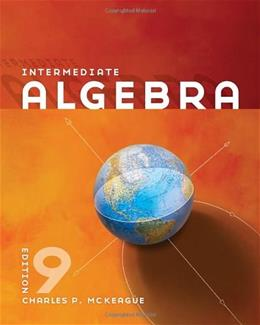 Intermediate Algebra (Textbooks Available with Cengage Youbook) 9 9780840064202