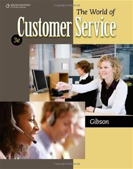 The World of Customer Service 3 9780840064240
