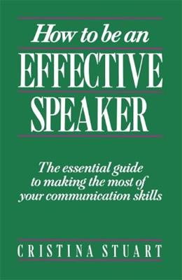 How To Be an Effective Speaker 1 9780844232805