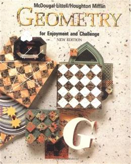 Geometry for Enjoyment and Challenge New Editio 9780866099653