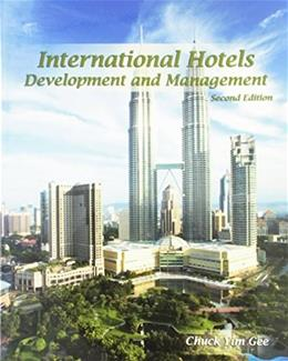 International Hotels: Development and Management, by Gee, 2nd Edition 9780866123297