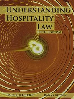 Understanding Hospitality Law 5 9780866123457