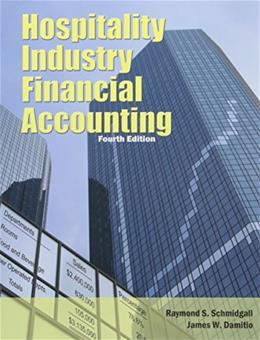 Hospitality Industry Financial Accounting 4 9780866124515