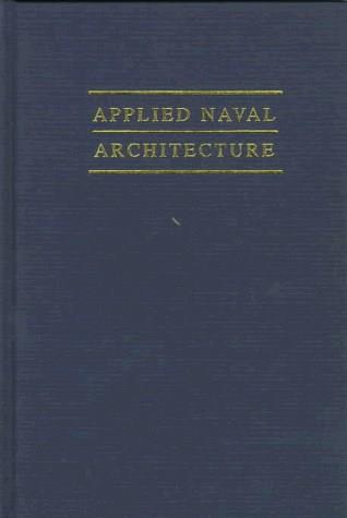 Applied Naval Architecture, by Zubaly, 2nd Edition 9780870334757