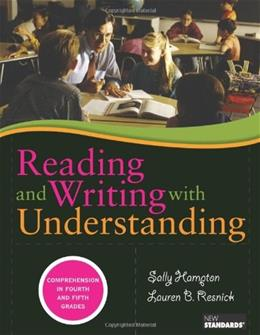 Reading and Writing with Understanding, by Hampton 9780872077676
