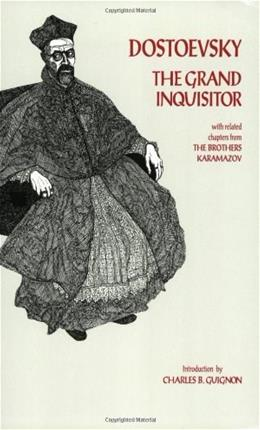 Grand Inquisitor: With Related Chapters from the Brothers Karamazov, by Dostoyevsky 9780872201934
