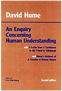 Enquiry Concerning Human Understanding, by Hume, 2nd Edition 9780872202290