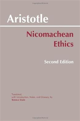 Nicomachean Ethics, by Aristotle, 2nd Edition 9780872204645