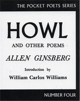 Howl and Other Poems, by Ginsberg 9780872860179