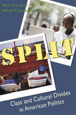 Split: Class And Cultural Divides in American Politics, by Brewer 9780872892989