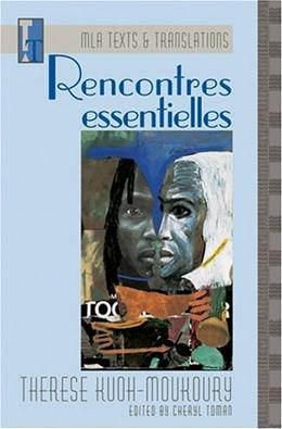 Recontress Essentielles, by Kuoh-Moukoury 9780873527934