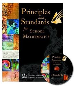 Principles and Standards for School Mathematics, by National Council of Teachers of Mathematics BK w/CD 9780873534802