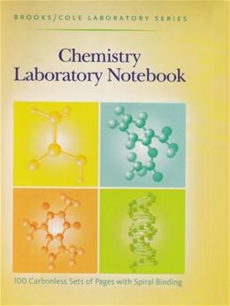 Chemistry Laboratory Notebook, by Brooks 9780875402475