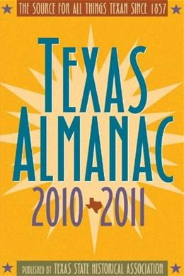 Texas Almanac 2010-2011, by Alvarez, 65th Edition 9780876112410