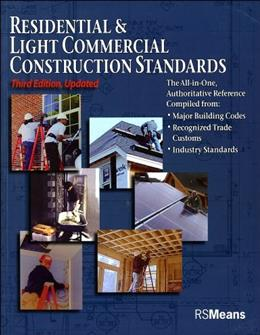 Residential and Light Commercial Construction, by R. S. Means Company, 3rd Edition 9780876290125