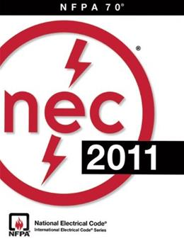NFPA 70®: National Electrical Code® (NEC®), 2011 Edition 9780877659143